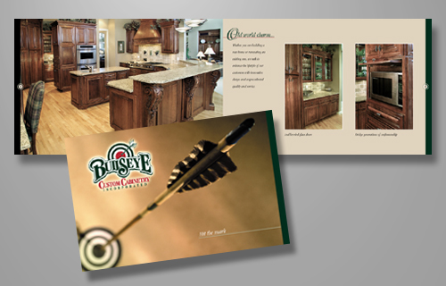 Bullseye Custom Cabinetry Brochure